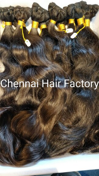 Natural Wavy Weft Hair Extensions