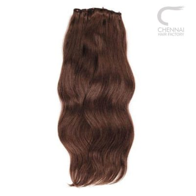Beaded Weft Straight Hair Extension