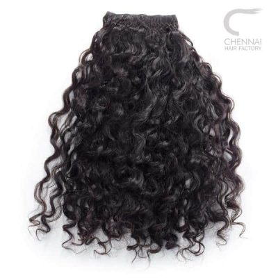 Classic Curly Weft Hair Extension