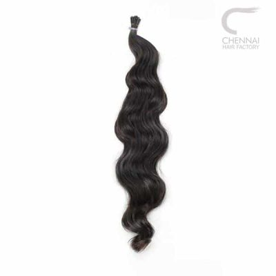 I-Tip Wavy Remy Hair Extensions