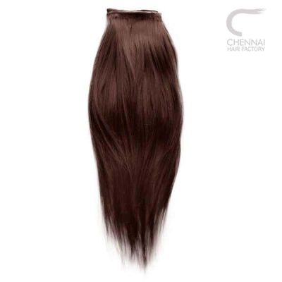 Straight Weft Human Hair Extensions