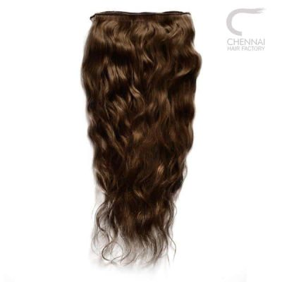 Wavy Weft Human Hair Extension